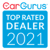 CarGurus Top Rated Dealer 2021 Award