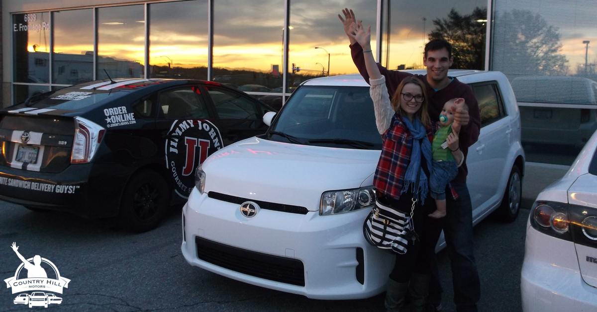 Used Scion purchased at Country Hill Motors of Kansas City