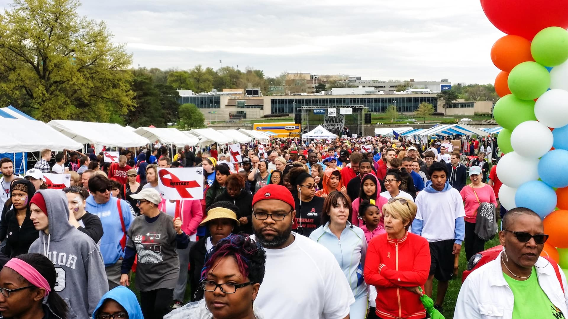 Aids Walk Images