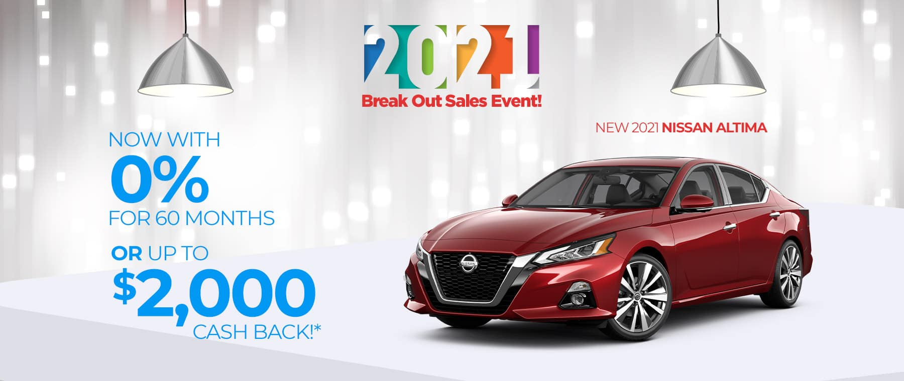 Special finance offer on a new 2021 Nissan Altima near near New Albany, Indiana