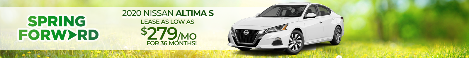 Best Lease on a all-new 2021 Nissan Altima near Clarksville IN