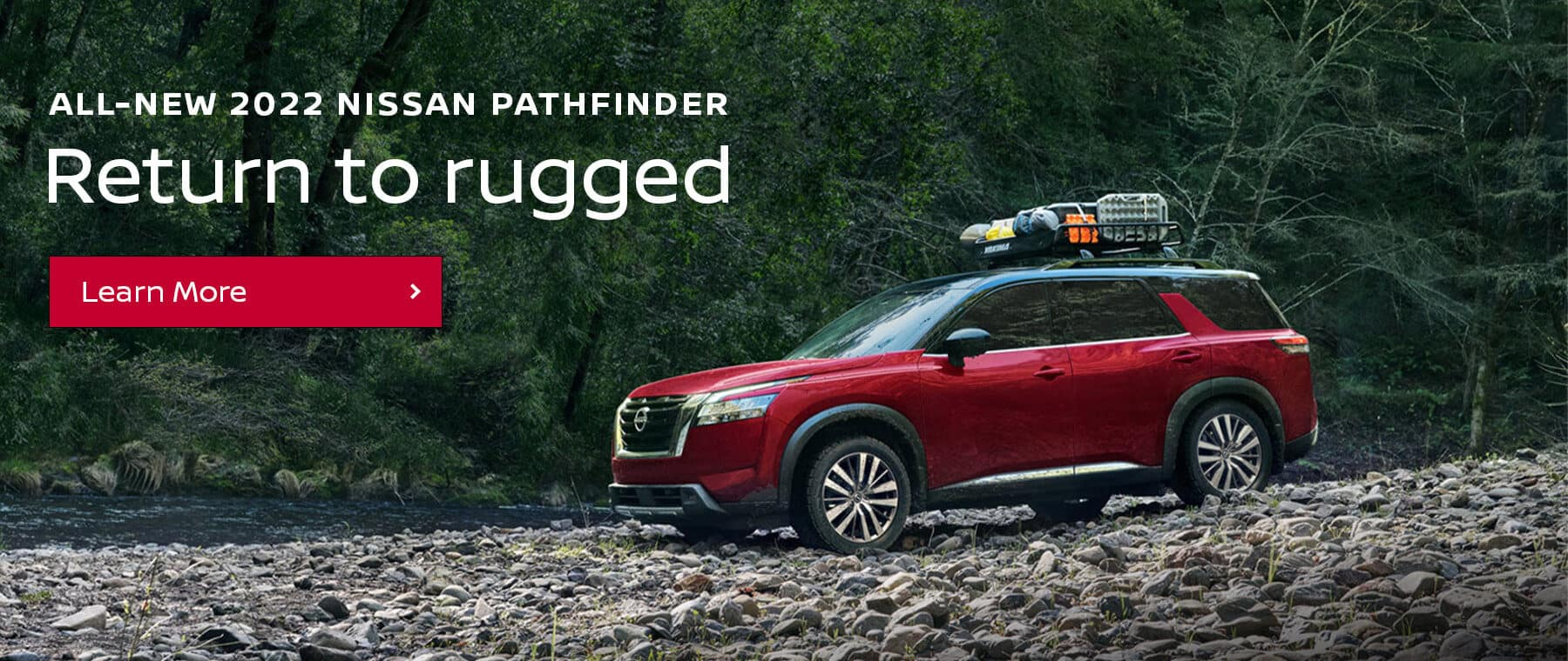 Return to rugged in the All-New 2022 Pathfinder near Clarksville, Indiana