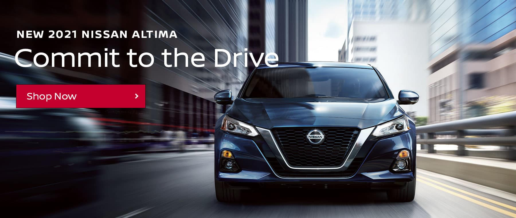 Commit To The Drive In the New Nissan Altima