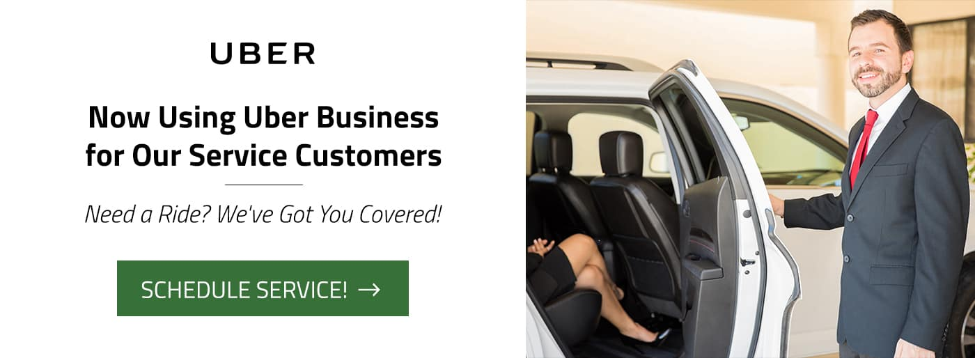 Cross Chrysler Jeep Fiat now using Uber for Business for Service customers!