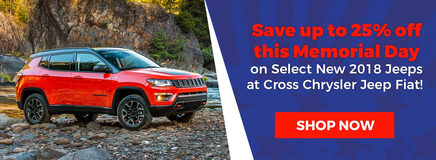 Memorial Day 2018 Jeep Offer