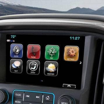 2017 GMC Canyon Touchscreen