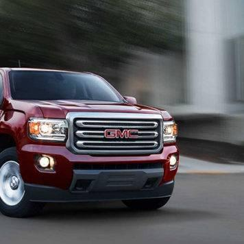 2017 GMC Canyon Red