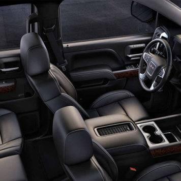 2017 GMC Sierra Seats