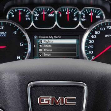 2017 GMC Sierra Instrument Panel