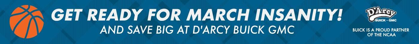 d'arcy buick gmc march insanity