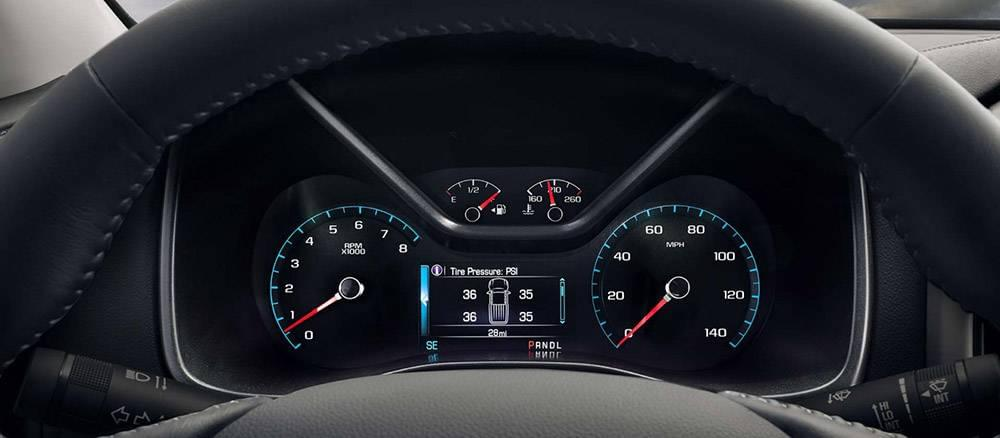 2017 GMC Canyon Instruments
