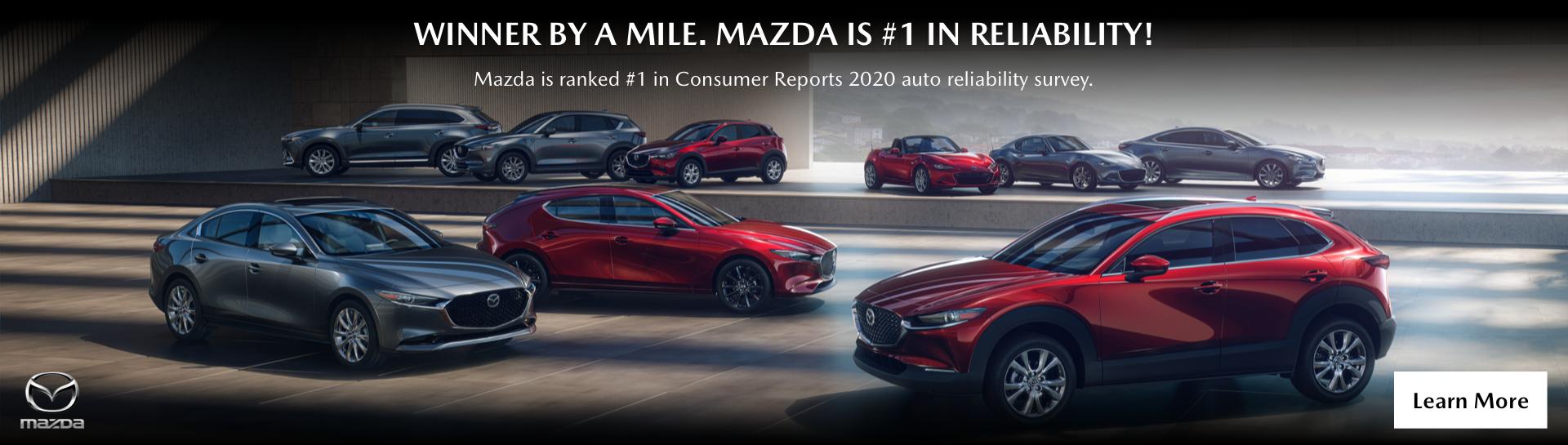 Mazda No.1 Consumer Reports Full Line