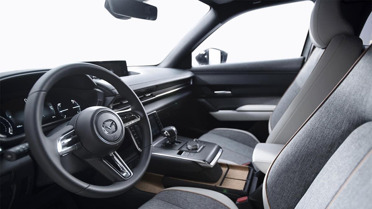 2022 Mazda MX-30 Heritage Cork console tray