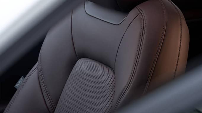 2022 Mazda CX-5 leather seats.