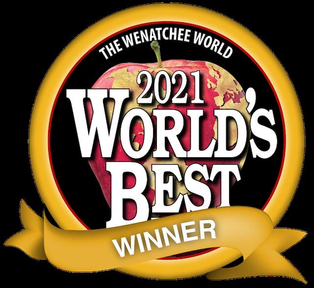 2021 Wenatchee World's Best Winner Award