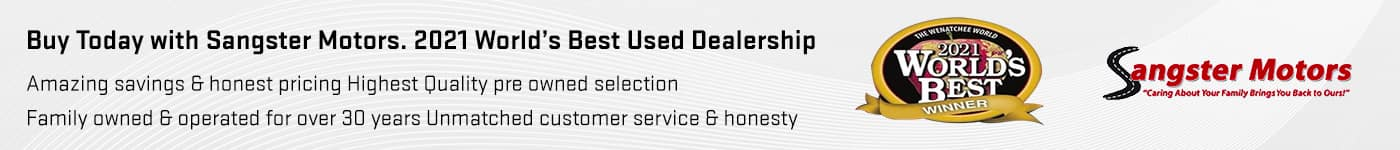 Sangster Motors Amazing savings & honest pricing Highest Quality pre owned selection Family owned & operated for over 30 years Unmatched customer service & honesty