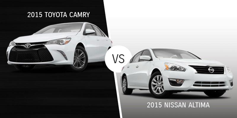 Camry vs. Nissan Altima