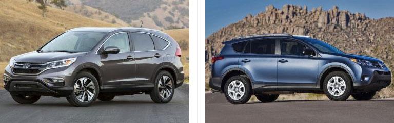 RAV4 vs. Honda CRV