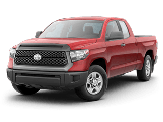 Red 2018 Toyota Tundra