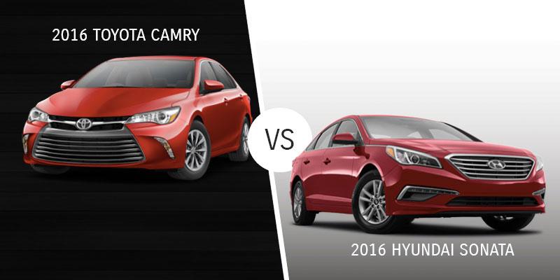 Camry Vs. Hyundai Sonata