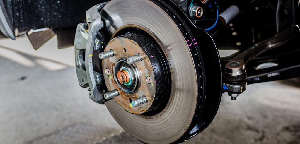 Toyota Front Rotors Brakes
