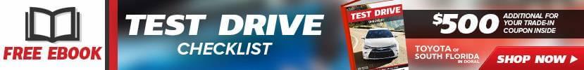 Test Drive Checklist eBook