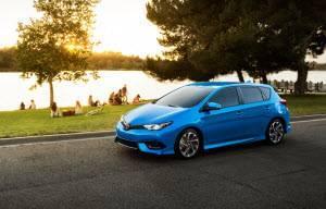 2017 Toyota Corolla iM Blue