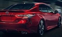 Toyota Camry Red