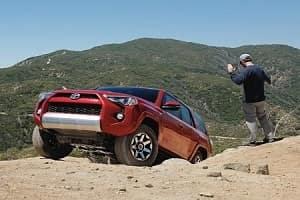 2018 Toyota 4Runner in Barcelona Red Metallic Off Road