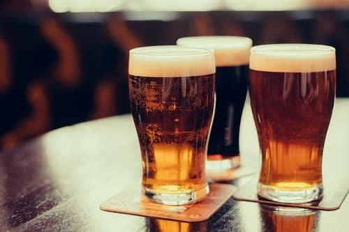 Three beers