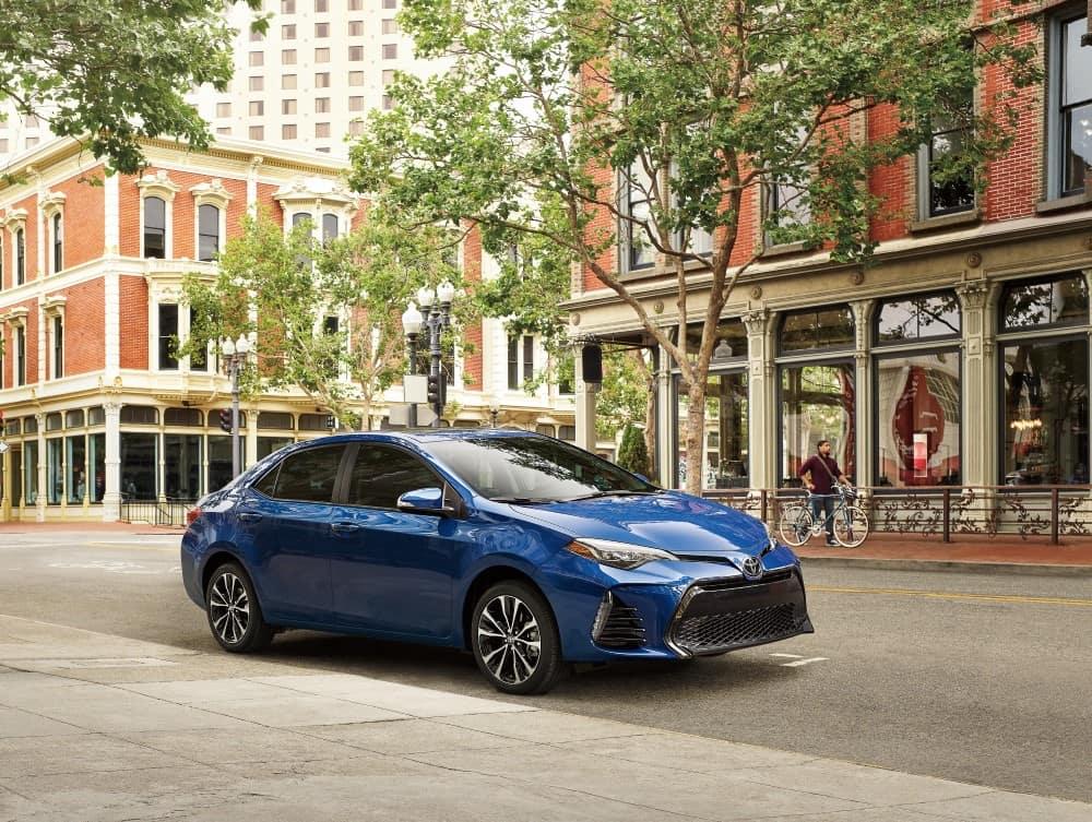 2019 blue Toyota Corolla