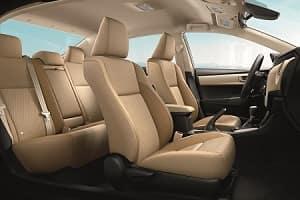 2018 Toyota Corolla Interior Space