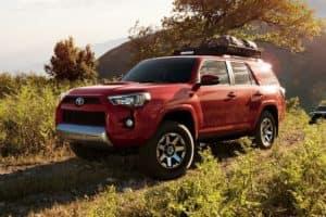 2019 Toyota 4Runner Red