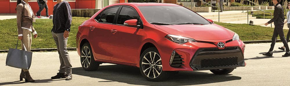 2019 Toyota Corolla Barcelona Red Metallic