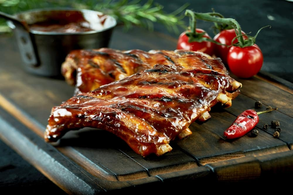 Baby Back Ribs at Sports Bar and Grill near Doral, FL