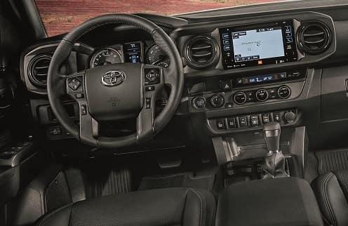 2019 Toyota Tacoma Interior Screen