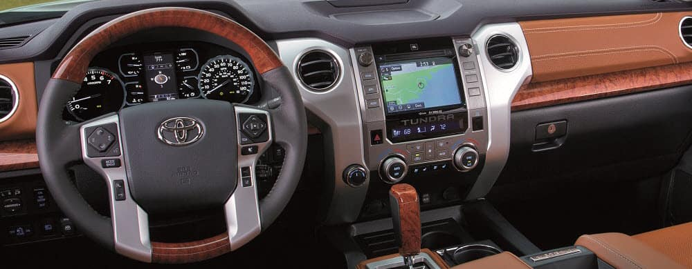 Toyota Tundra Interior Features