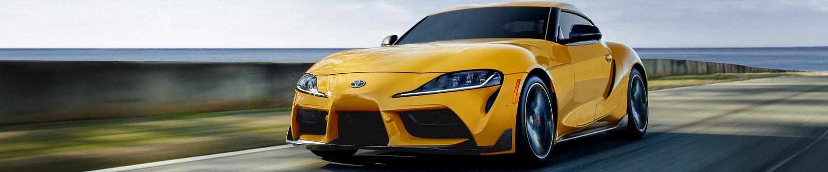 2020 Toyota Supra Yellow
