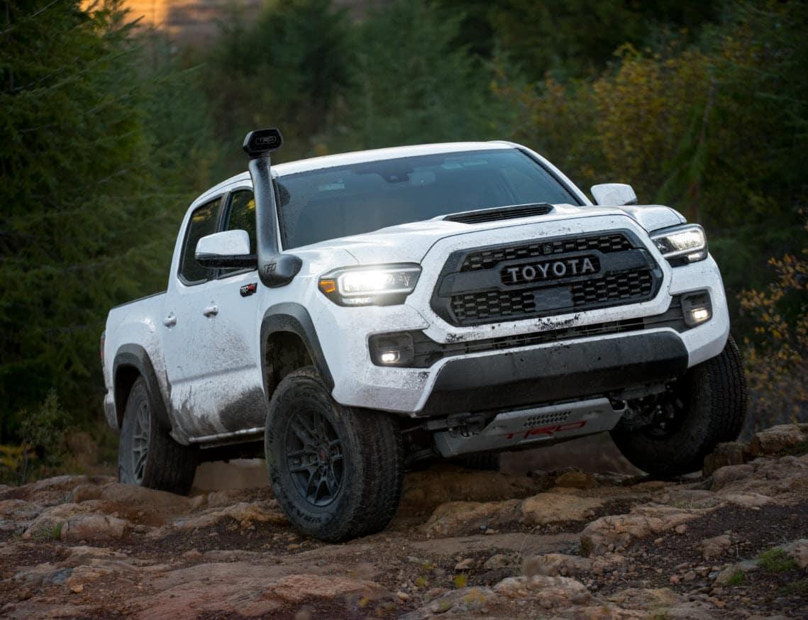 2020 Toyota Tacoma White
