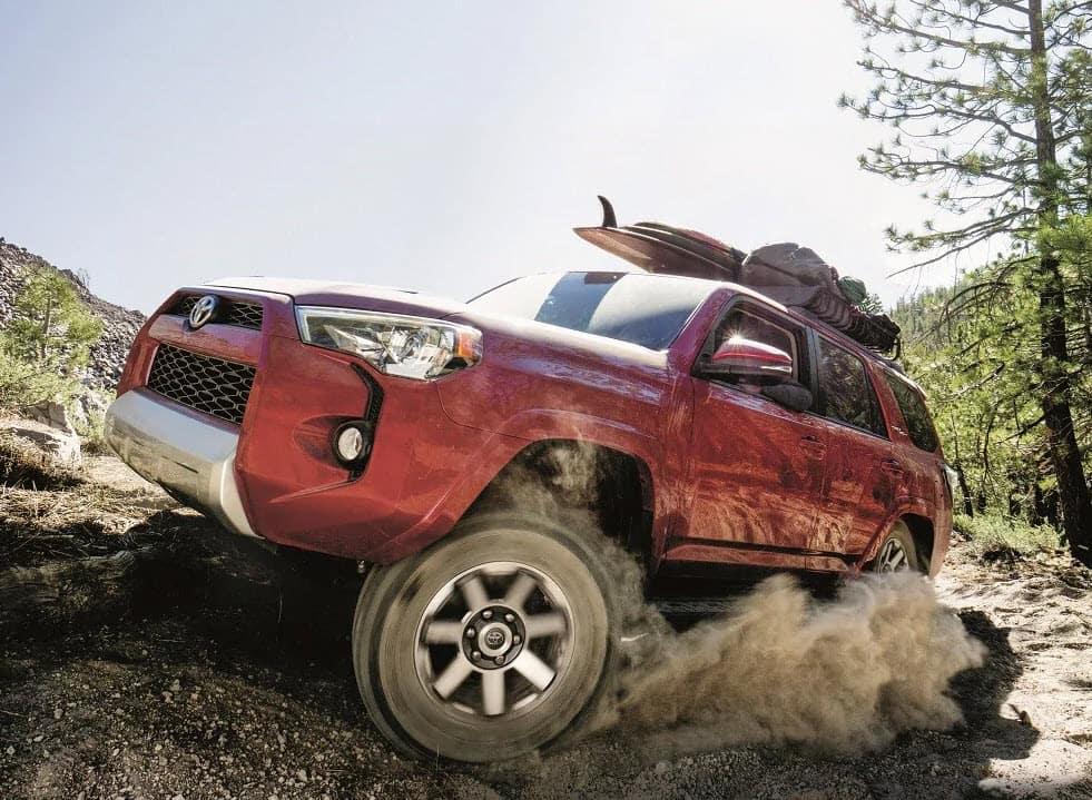 Toyota 4Runner Red Exterior