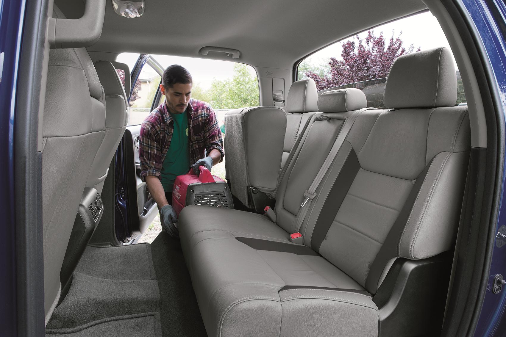 2019 Toyota Tundra Rear Seat Storage