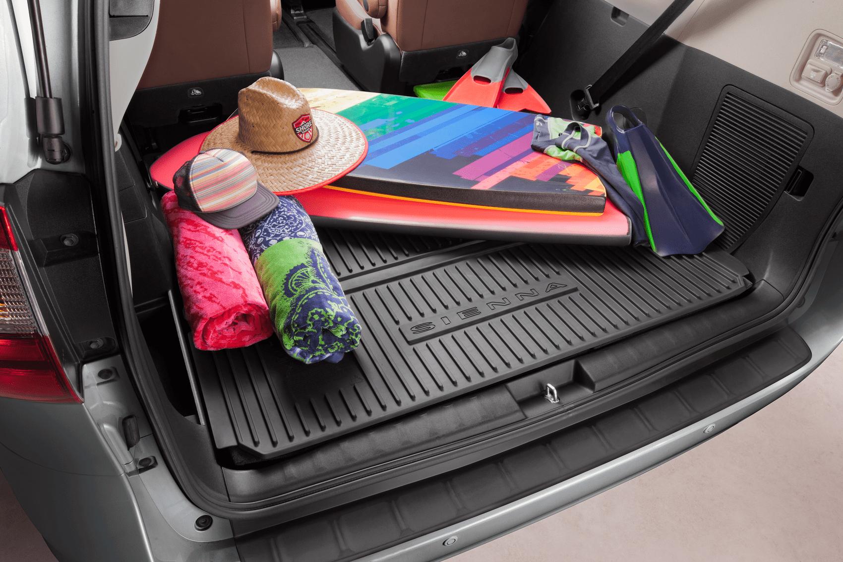 Toyota Sienna Trunk Cargo Space