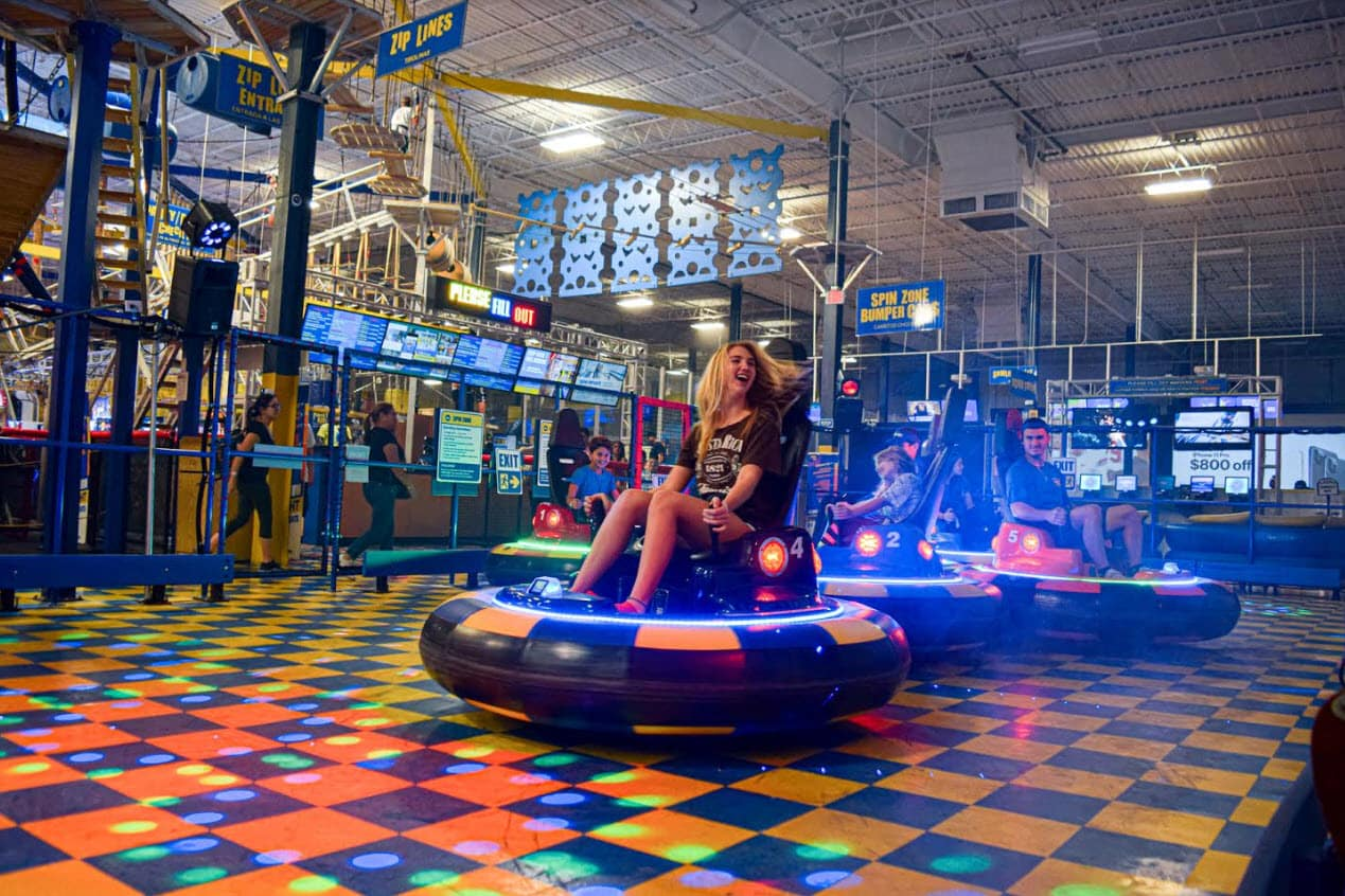 Planet Air Sports Bumper Cars