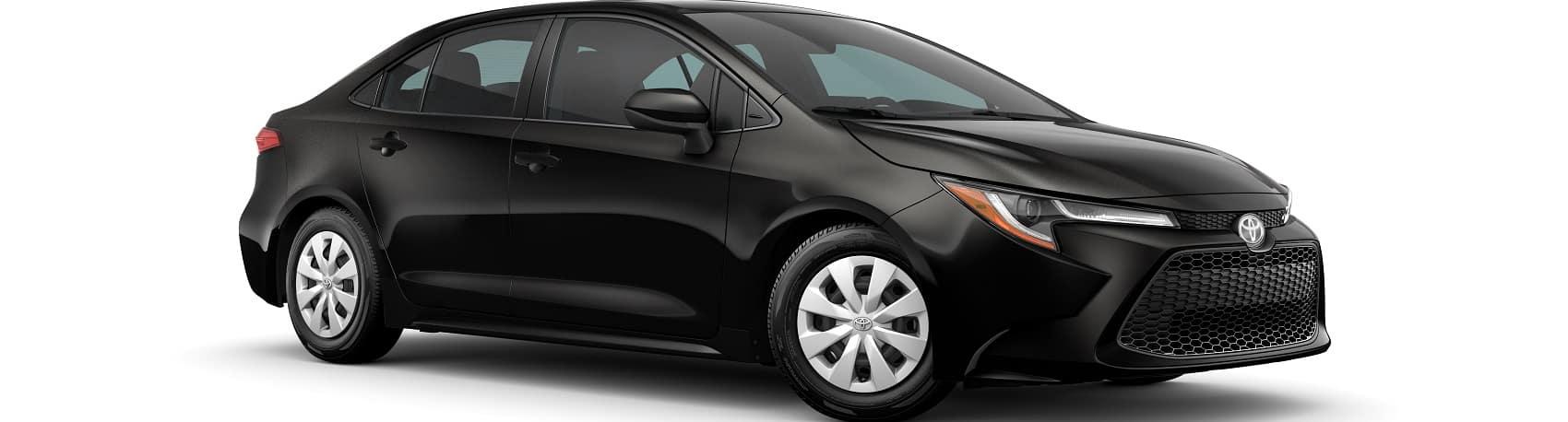 2020 Toyota Corolla Black