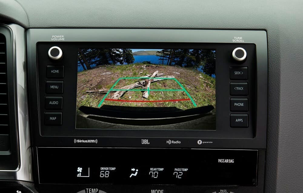 Toyota Sequoia Backup Camera