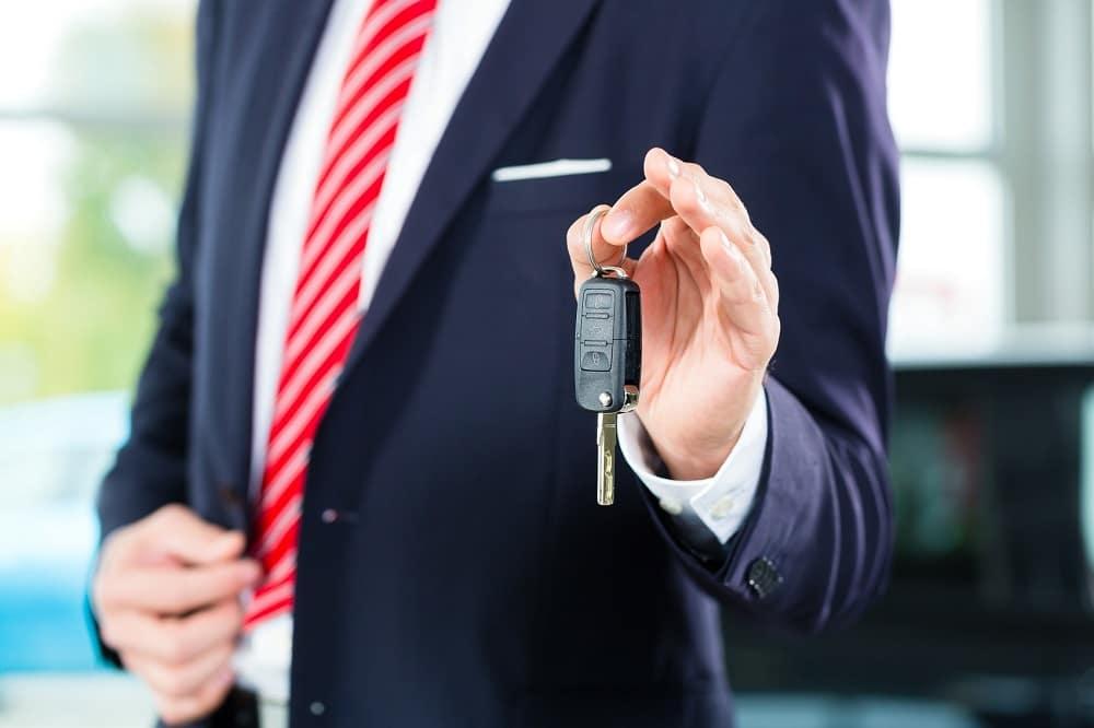 Leasing at Car Dealership
