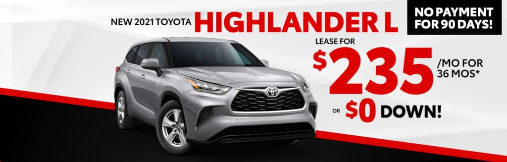 Lease for $235/mo for 36 months* OR $0 DOWN!