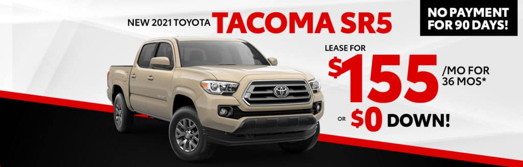 Lease for $155/mo for 36 months* OR $0 DOWN!