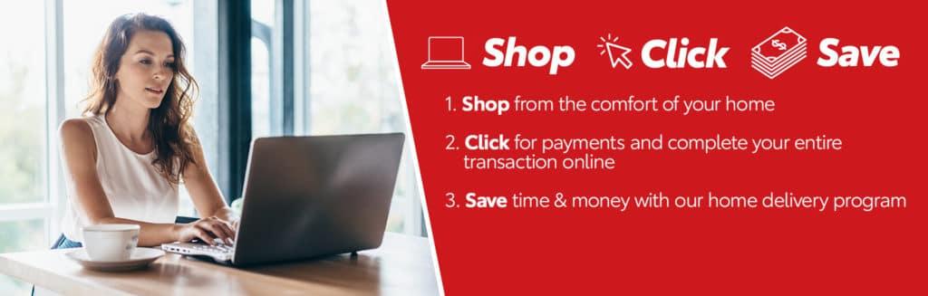 Shop Click Save