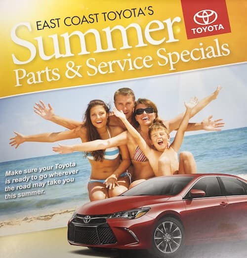Summer parts and service